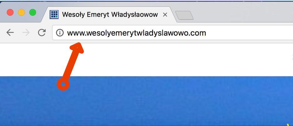 Strona www bez certyfikatu SSL