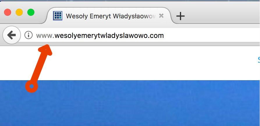 Strona internetowa bez certyfikatu SSL