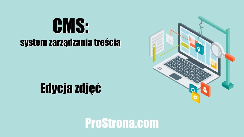 Podstawowy CMS – Edycja zdjęć