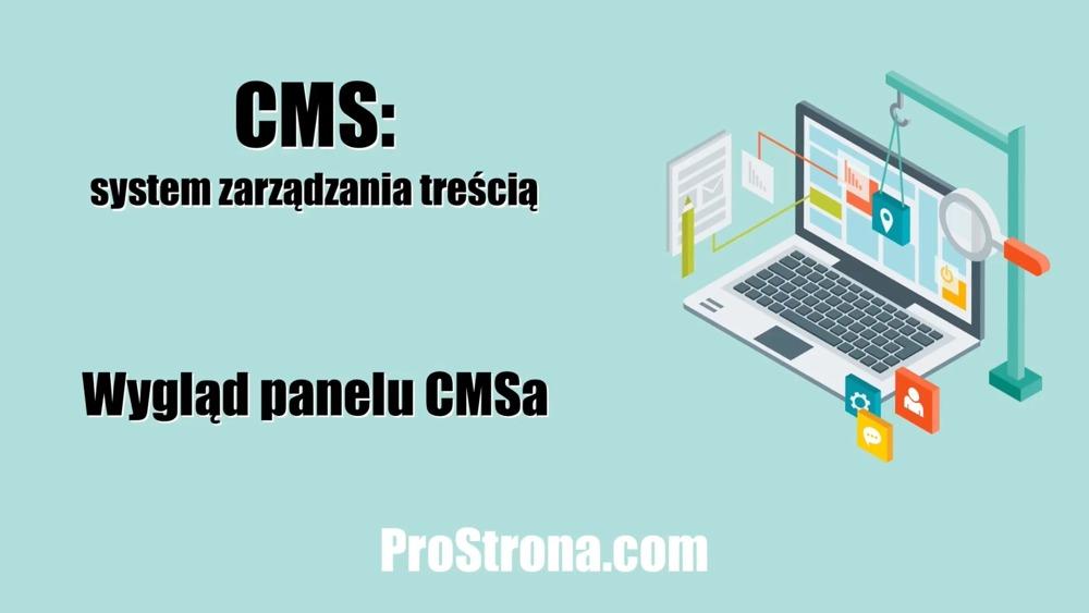 Zaawansowany CMS – Wygląd panelu