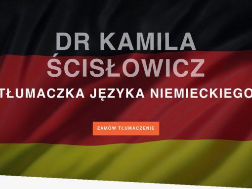 Kamila Ścisłowicz
